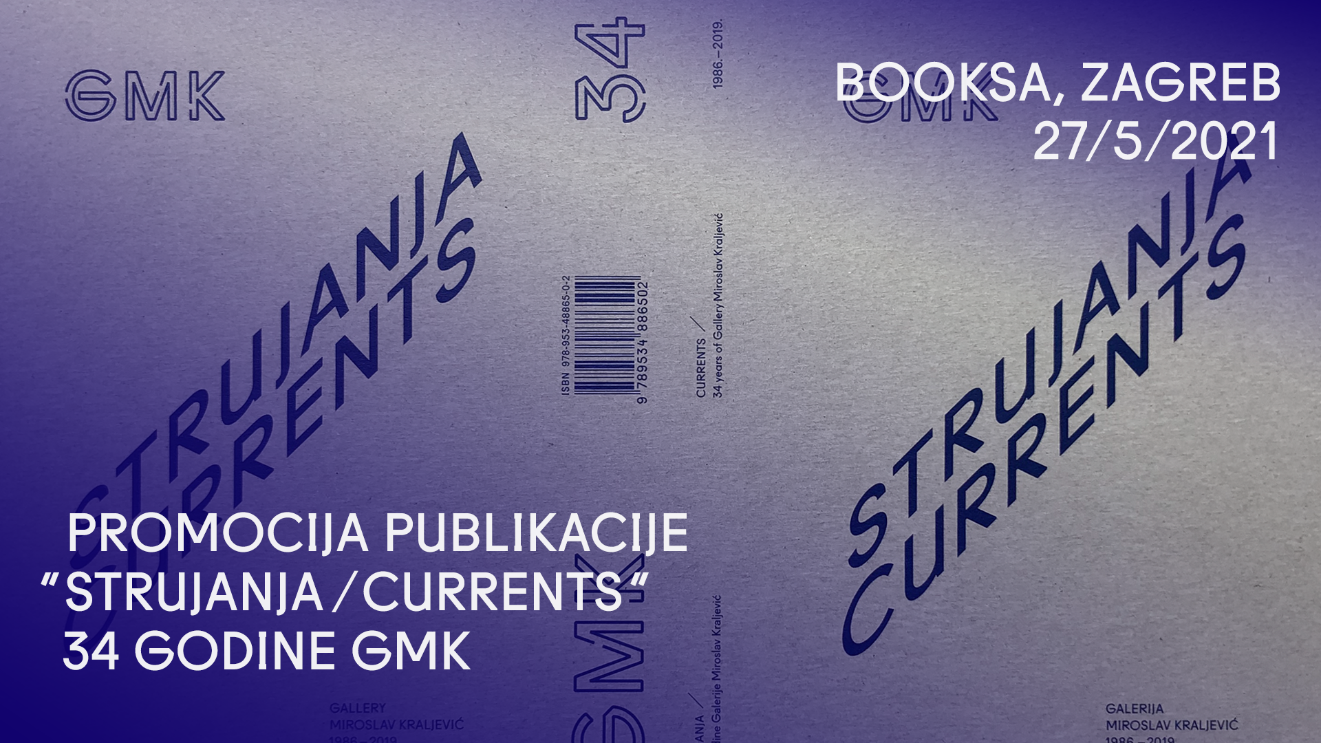 Predstavljanje publikacije 'Strujanja / 34 godine GMK'
